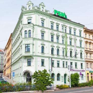 Rekonstrukce historické fasády Seifertova 9, Praha 3