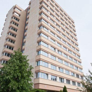 Zateplení fasády ubytovny Koněvova 212, Praha 3