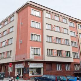 Rekonstrukce fasády Bulharská 26, Praha 10