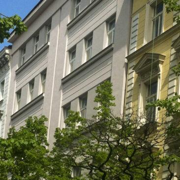 Rekonstrukce fasády Belgická 36, Praha 2