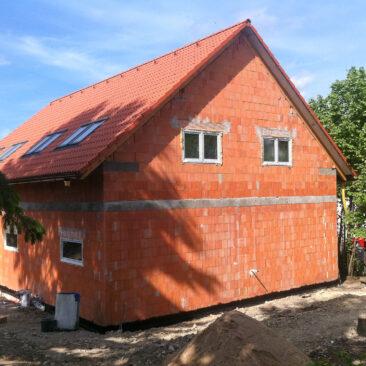 Stavba rodinného domu Mníšek pod Brdy