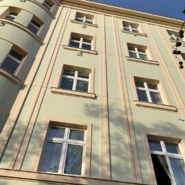 Rekonstrukce fasády Koněvova, Praha 3