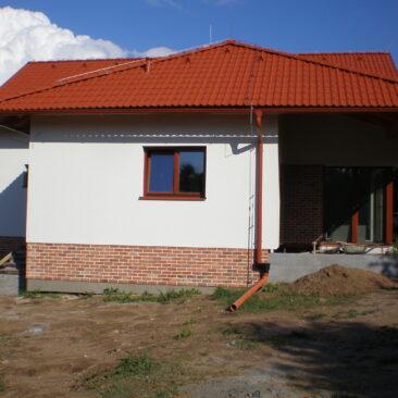 Stavba rodinného domu Klečetné u Rakovníka
